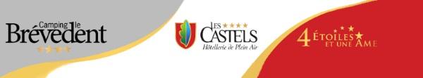 Le Brévedent, camping Les Castels 4 étoiles