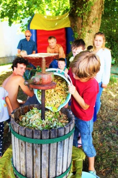 Fabrication de jus de pomme