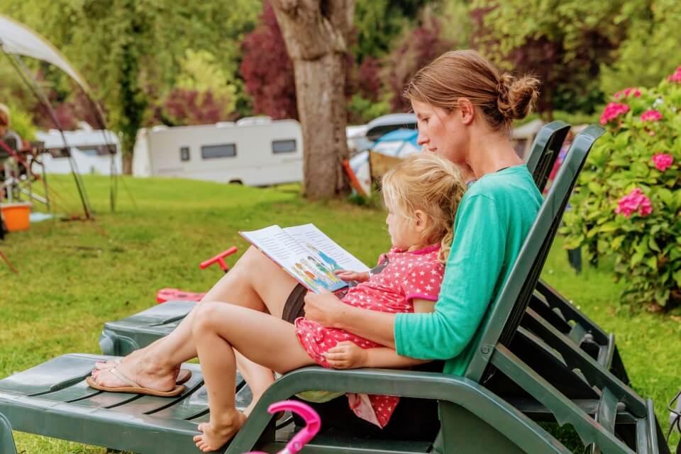 Mobil home Castel camping du Brevedent