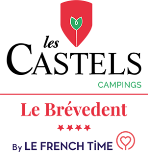 Label Les castels camping, camping le Brevedent, by le french time